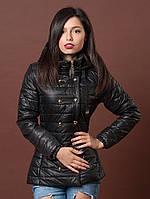 Черная курточка с капбшоном