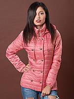 Нежно розовая весенняя курточка