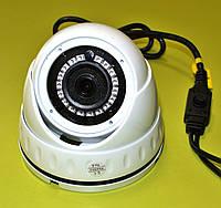 Антивандальна купольна камера відеоспостереження AHD/CVI/TVI/ANALOG FULL HD MT-CVI-A2128WD 2.8mm
