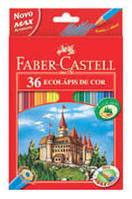 """Цветные карандаши """"Замок и рыцари"""" 36 цветов + точилка"""