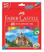 """Цветные карандаши """"Замок и рыцари"""" 48 цветов + точилка"""