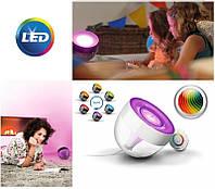 Светильник настольный декоративный Philips LIC Iris LivingColors Remote control Clear (915004285401)