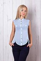 Красивая блуза без рукавов