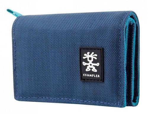 Особенный мужской кошелек Nomads Crumpler NM-007 темно-синий