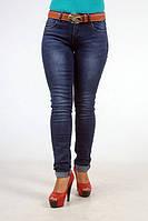 Женские джинсы полу батал осенние.