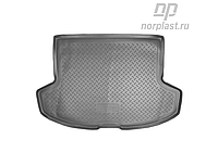 Полиуретановый ковер в багажник Mitsubishi LANCER Х/Б с 2008-  / цвет:черный