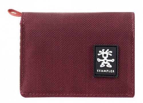 Чудесный женский кошелек Nomads Crumpler NM-006 бордовый