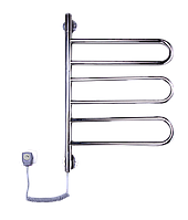 Электрич.полотенцесушитель Флюгер-3 (730*450*50) 67 Вт нержавейка