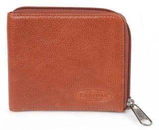 Современный мужской кошелек из натуральной кожи Nariwa Eastpak EK26B18K коричневый