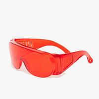 Очки защитные красные Озон Vita