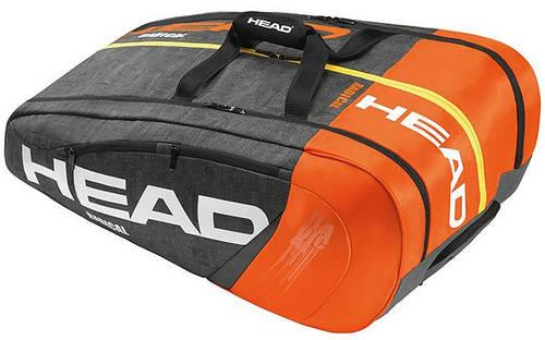 Вместительная мужская сумка-чехол на 12 ракеток  283165 Radical 12R Monstercombi HEAD