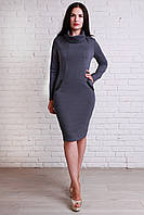 Качественное платье воротник-хомут