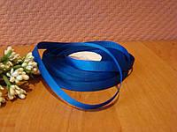 Репсовая лента темно - синяя