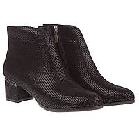 Ботильоны женские Brocoly (стильная фактурная кожа, удобный каблук, удобные, модные, изысканные)