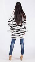 Модный вязаный кардиган Звезды нитка-травка размер 50 it02