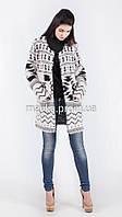 Модный вязаный кардиган нитка-травка размер 50 it03