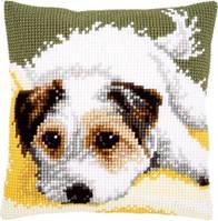 """Набор для вышивания крестом VERVACO """"Little dog wagging its tail ( Маленькая собака виляет хвостом)"""""""