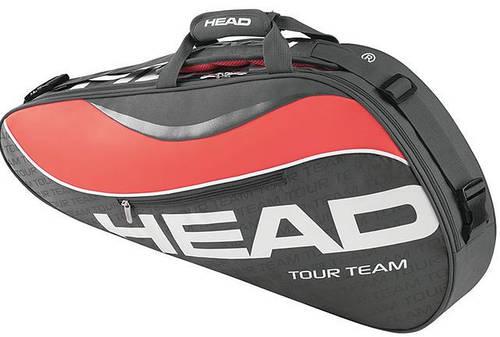 Компактная теннисная сумка-чехол на 3 ракетки 283225 Tour Team 3R Pro  ANCO HEAD