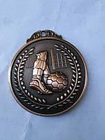 Медаль HB037 bronze с лентой