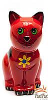Керамическая копилка Кошка 16,5 см