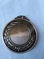 Медаль HB040 bronze с лентой
