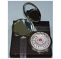 Зеркальце карманное косметическое в подарочной упаковке, Франция