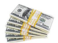 Пачка денег сувенирные деньги подарок 100 $