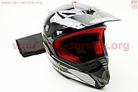 Кроссовый шлем MONSTER размер S