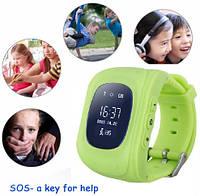 GPS Tracker Часы Для Детей SOS Мобильный Телефон