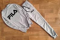 Утепленный спортивный костюм FILA ( GREY )