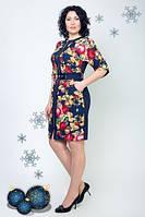 Платье больших размеров Доминика, фото 1