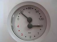 7825530 Манометр / термоманометр 0--4 бара для котла Viessmann