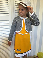 """Платье с пиджаком """"Габриелла""""2,размеры 104 - 146 см"""