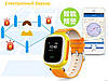 GPS GSM GPRS Смарт Часы Для Детей Интеллектуальные Трекер Q60