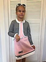 """Платье с пиджаком """"Габриелла""""4,размеры 104 - 146 см"""