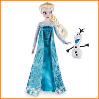 Кукла Disney Эльза Холодное сердце Дисней / Elsa Frozen 2016 с фигуркой Олафа