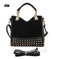 Модная женская сумка черная