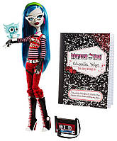 Кукла Гулия Йелпс базовая с питомцем, Monster High Ghoulia Yelps Doll with Pet