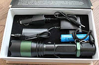 Тактический фонарик Police BL-1826-T6 12000W