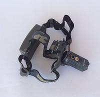 Аккумуляторный Налобный фонарик Police LL-9980-T6, Диод CREE-T6, 2 акб 18650 Электрический ЗУМ