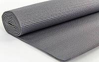 Коврик для йоги и фитнеса Yoga Mat 4мм серый