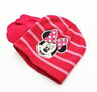 Шапочка и перчатки Мини Маус