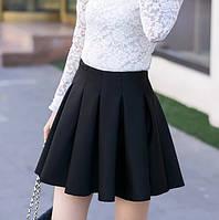 Юбка черная,супер модная,  для девушек