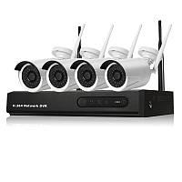 Комплект беспроводного ip (wifi) видеонаблюдения 3204