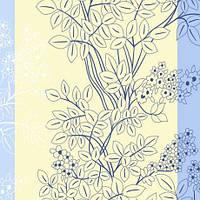 Ткань постельная 135617 Бязь (ПАК)НАБ. ГОЛД FM рис  17-С Голубой 220СМ