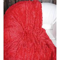 Плед-одеяло ворсистое евро-размер