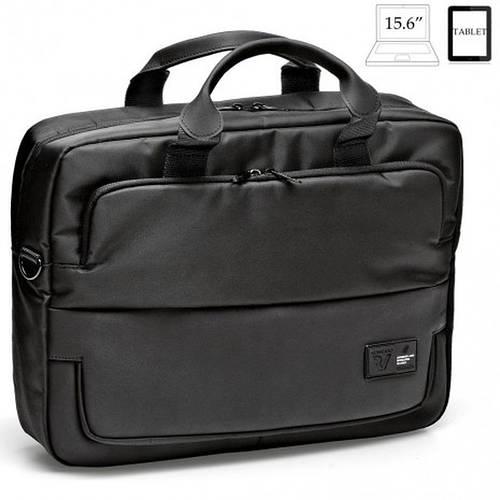 Черная практичная сумка с отделением для ноутбука 15,6' Roncato Princeton 2280/01