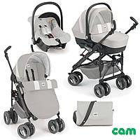 Универсальная коляска CAM Combi Tris (+автокресло) серая (784015 - 574)