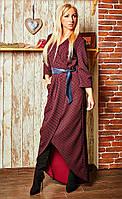 Женское платье Ясмин из стрейчевого жжакарда