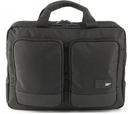 Нейлоновая прочная сумка с отделением для ноутбука 15,6' Roncato Princeton 2281/01 черная